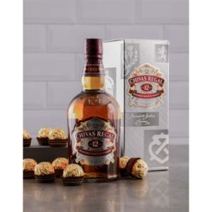 12 Year Chivas Regal and Ferrero