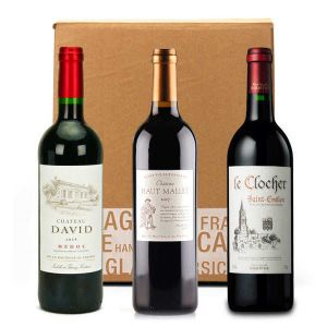 3 Bordeaux Wines Box