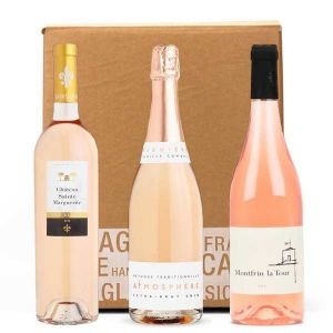 3 Organic Pink Wines Assortment
