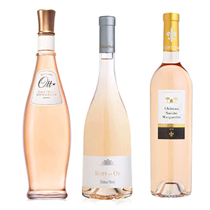 3 Vins Roses Dexception De Provence