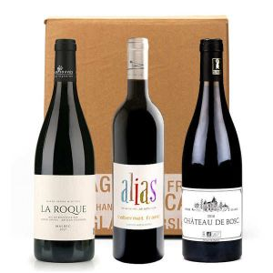 3Organcic Red Wines Without Sulfites Box