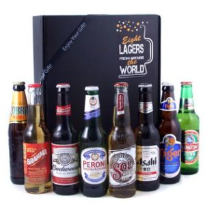 8 Lagers Of The World Gift Box