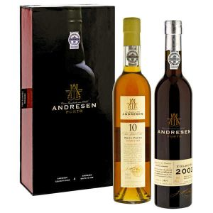 Andresen Port Wine Gift Box 2Bottles