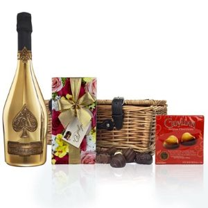 Armand De Brignac Gold 75Cl and Chocolates
