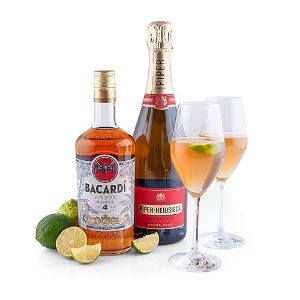 Bacardi Anejo Cuatro Old Cuban Cocktail