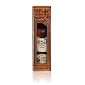 Bacardi Dewar S 12Years In Clock Tin Box