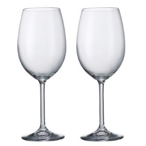 Barbara Crystalite Bohemia Wine Glasses