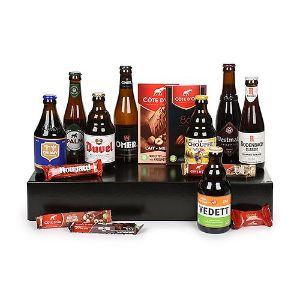 Belgian Beer Chocolate Selection Gift