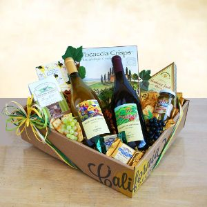 Best of California Wine Gift Basket