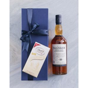 Blue Box of Talisker 10Yr