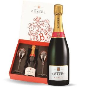 Boizel Brut Reserve Champagne And Gift Set