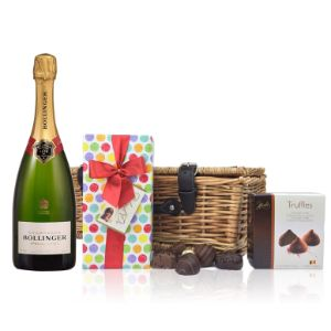 Bollinger Brut and Chocolates