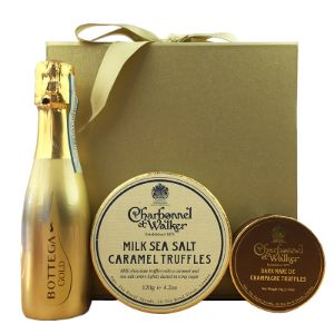 Bottega Gold and Charbonnel Gift