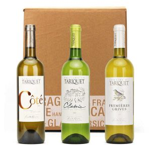 Box Of 3 Tariquet White Wines