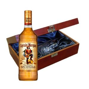 Captain Morgans Spiced Gold Rum in Luxury
