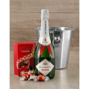Champagne Jc Le Roux Lindt and Ice