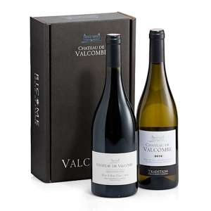 Chateau De Valcombe Red White Wine Duo
