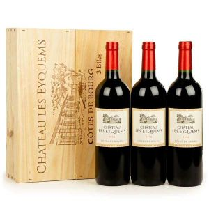 Chateau Les Eyquems Box Of 3Bottles