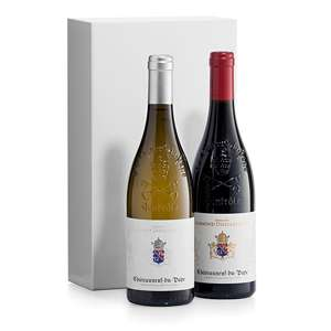 Chateauneuf Du Pape Wine Duo