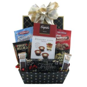 Chocolate And Cookie Sensation Gift Basket
