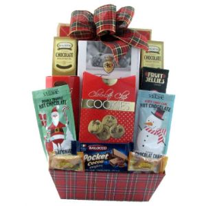 Cocoa And Cookies For Santa Basket