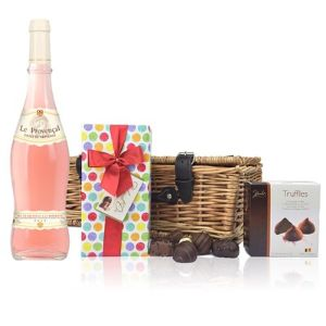 Cotes De Provence Rose and Chocolates