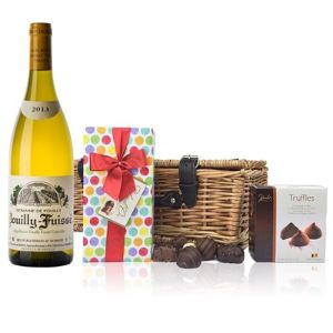 Domaine Mazilly Pouilly and Chocolates