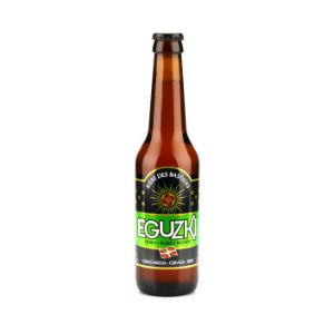 Eguzki Blonde Beer From The Basque Country