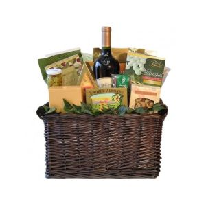 French Gourmet Wine Sampler Gift Basket