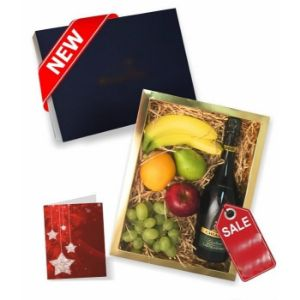 Fruit and Bubbly Gift Box