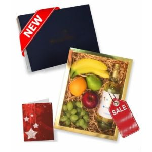 Fruit and White Wine Gift Box