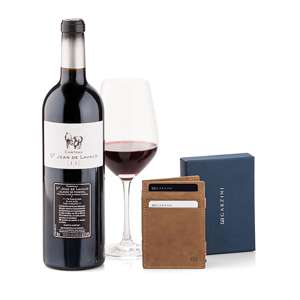 Garzini Wallet Red Wine