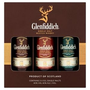 Glenfiddich Single Malt Scotch Whisky Set