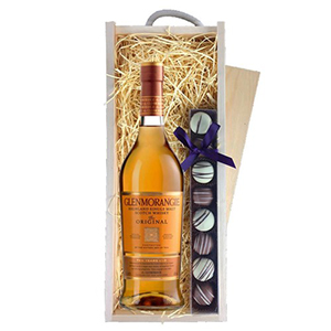 Glenmorangie 10 Year Old Whisky and Truffles