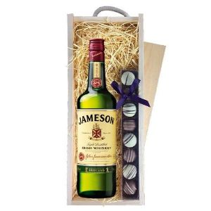 Jamesons Irish Whiskey 70Cl and Truffles Box