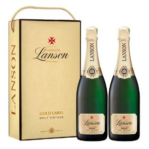Lanson Gold Label Vintage 2002 Twin Set