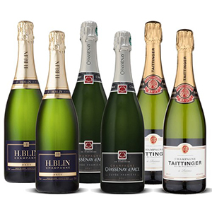 Mixed Case Champagne 6X75Cl Taittinger