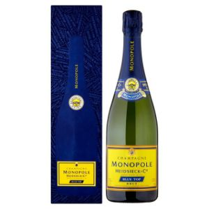 Monopole Blue Top Brut Champagne 75Cl