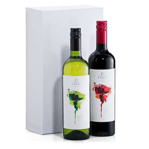 Oxfam Lautaro White Red Wine Duo