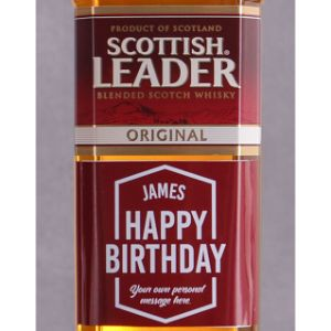 Personalised Birthday Scottish Leader