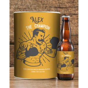 Personalised Champ Craft Beer