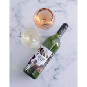 Personalised Collage Photo Red Wine