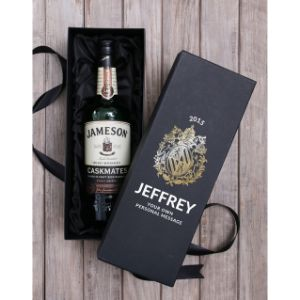 Personalised Jameson Whiskey Box
