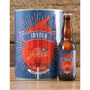 Personalised Light My Fire Craft Beer