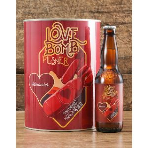 Personalised Love Bomb Craft Beer
