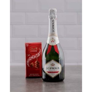 Red and White Jc Le Roux Lindt Gift