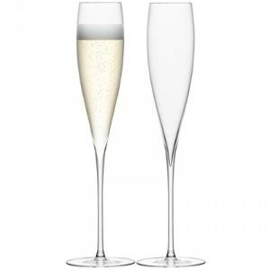 Savoy Sophisticated Champagne Flutes
