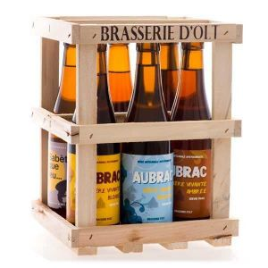 Set Of 6 Bottles Of Beer From Brasserie D Olt