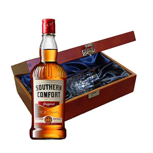 Southern Comfort 70Cl In Luxury Box With Glass