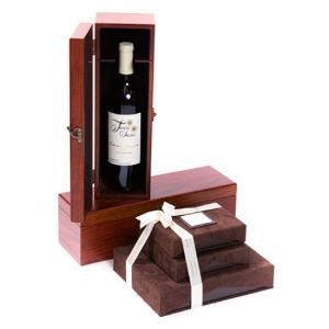 Wine and Chocolate Gift Set